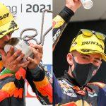 GP Germania, Moto2: Gardner ne infila tre. Moto3: Acosta torna faro. I numeri