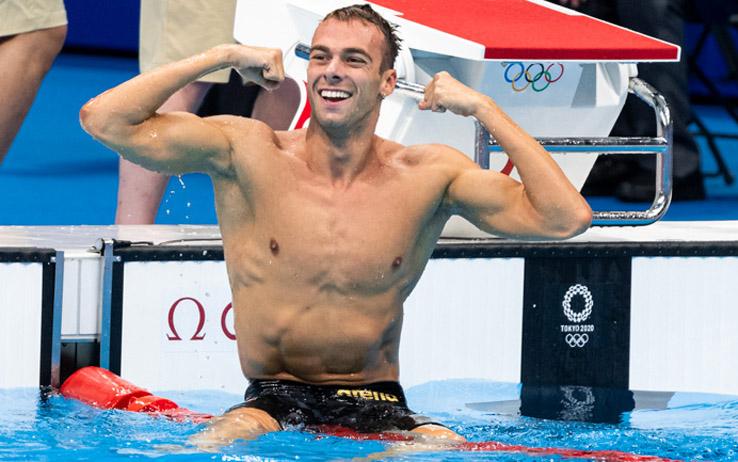 Olimpiadi, Paltrinieri argento nel nuoto negli 800 stile libero a Tokyo 2020
