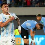 Argentina, la notte di Lautaro: standing ovation e lacrime in panchina